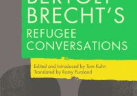 Cover of Bertolt Brecht's Refugee Conversations